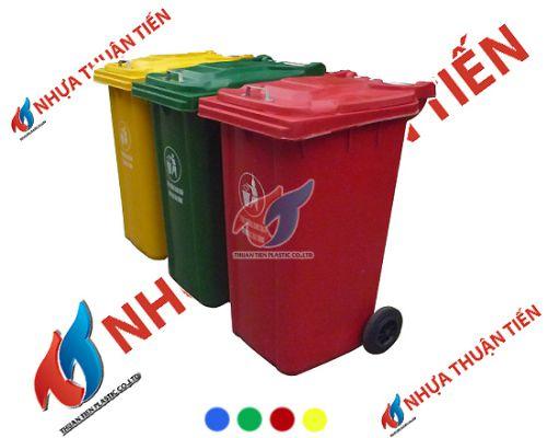 bán thùng rác composite
