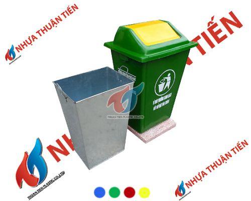giá bán thùng rác composite
