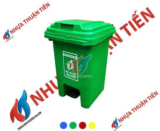 Ưu điểm nổi bật của những chiếc thùng rác nhựa