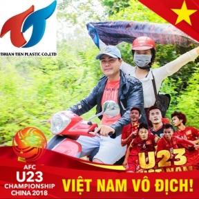 Công ty TNHH Nhựa Thuận Tiến với tinh thần Bóng đá Việt Nam bất diệt