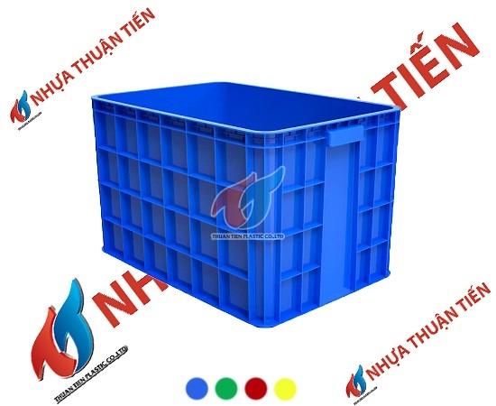 quy trình sản xuất thùng nhựa sóng