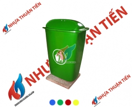 Thùng rác composite 50L