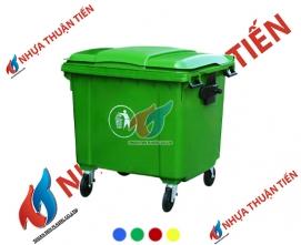 Thùng rác công cộng 660L