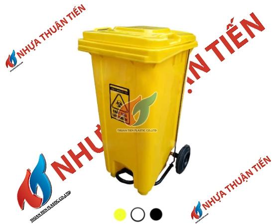 Thùng rác y tế đạp chân 240L
