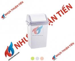Thùng rác nắp lật trung