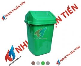 Thùng rác lật lớn
