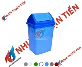 Thùng rác lật trung