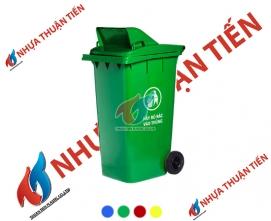 Thùng rác nhựa 240L nắp hở