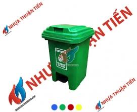 Thùng rác nhựa 60L đạp chân