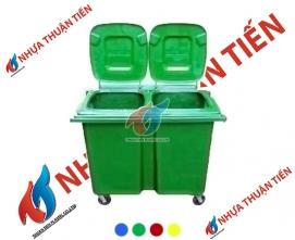 Thùng rác phân loại 660L