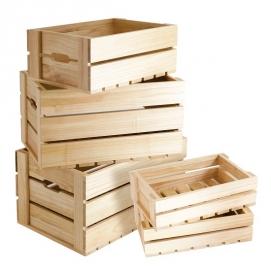 Thùng gỗ hở