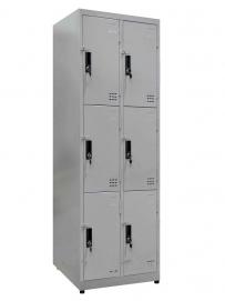 Tủ locker 6 ngăn thấp