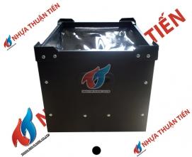 Thùng nhựa Danpla chống tĩnh điện - nắp PVC